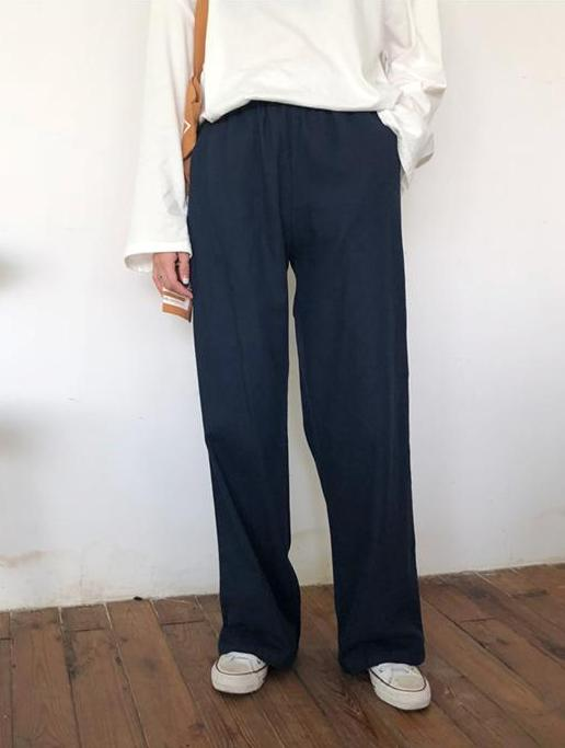 Catherine Pants (Navy)