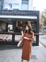 Jayme Dress (Brown)