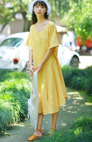 Coco Dress (Yellow)