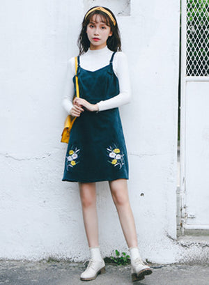 Aebele Dress (Green)