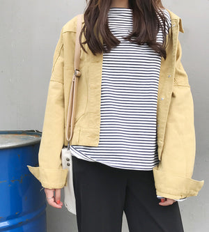 Brigetta Outerwear (Yellow)