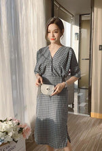 Beatrice Dress (Grey)