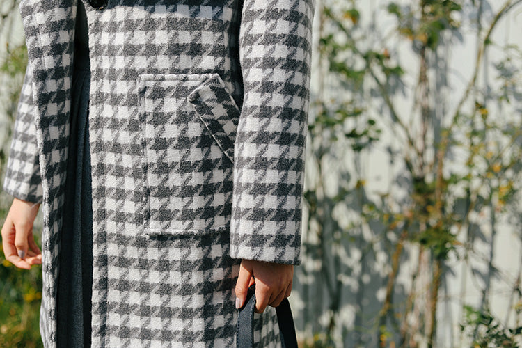 Cosetta Checkered Outerwear