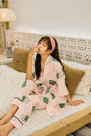 Gandie Four-Piece Pajamas Set