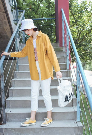 Clarence Outerwear (Yellow)