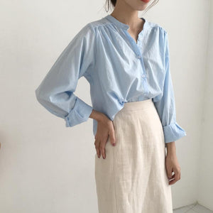 Caryle Top (Blue)