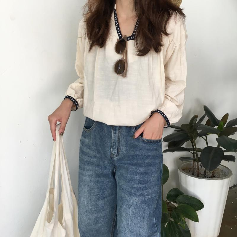 Anadine Top (Beige)