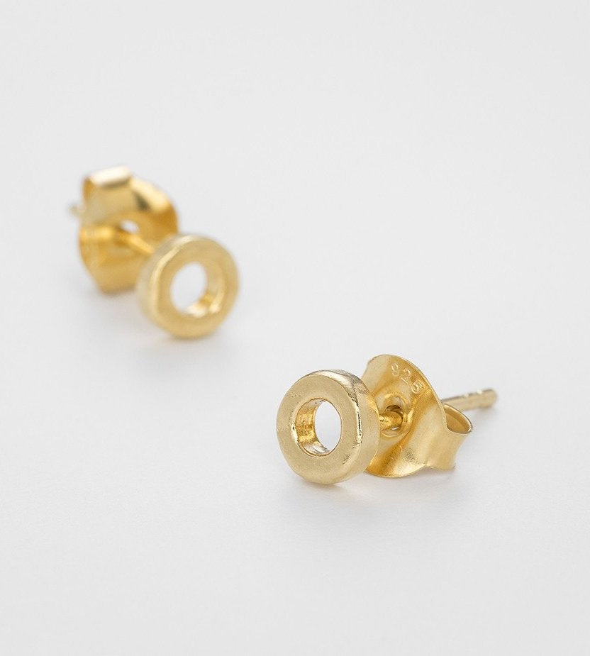 Eternity Gold Plated Studs