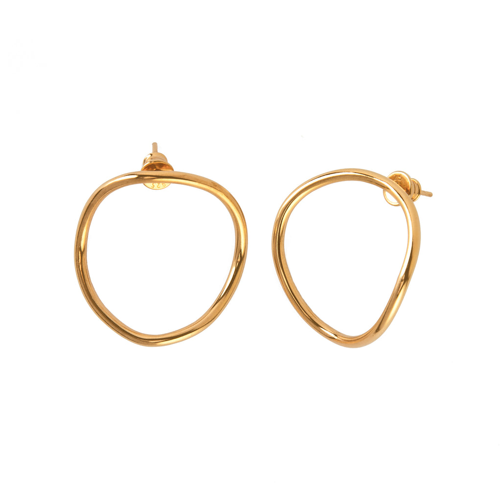 Gold Plated Small GYPSY Earrings