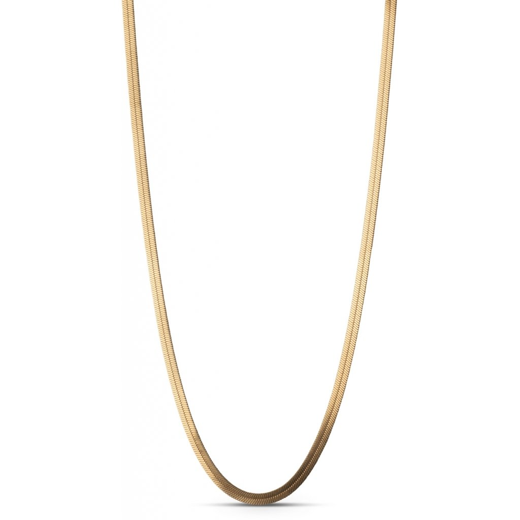 "18k Gold-plated Silver Necklace ""Caroline"""