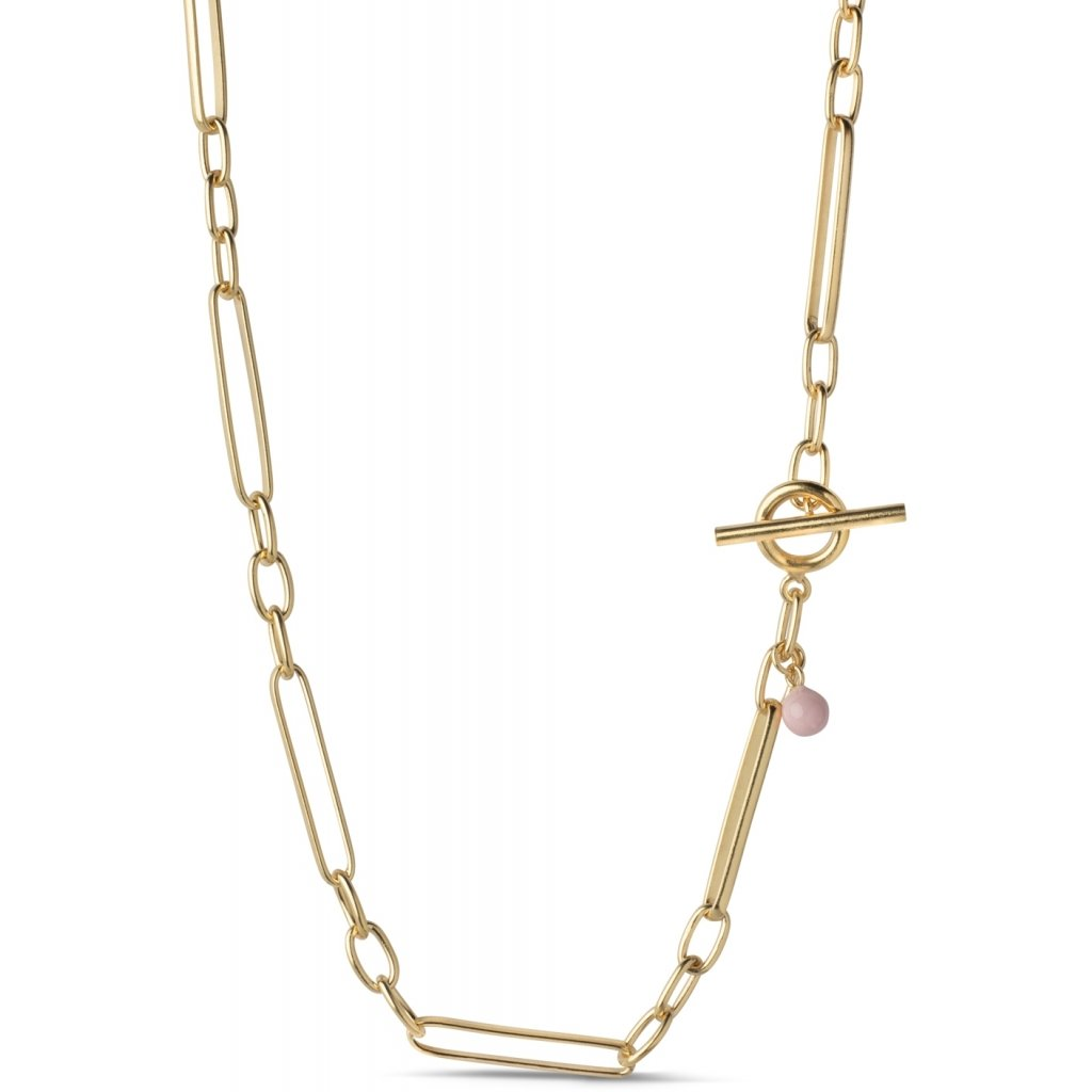 Gold Plated Necklace 'Vilde'