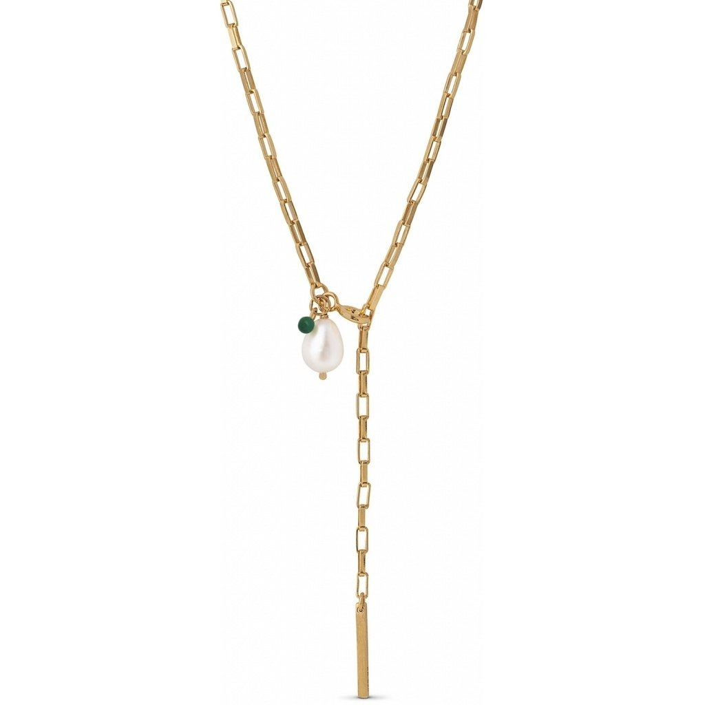 "18K Gold Plated Necklace ""Azra"""