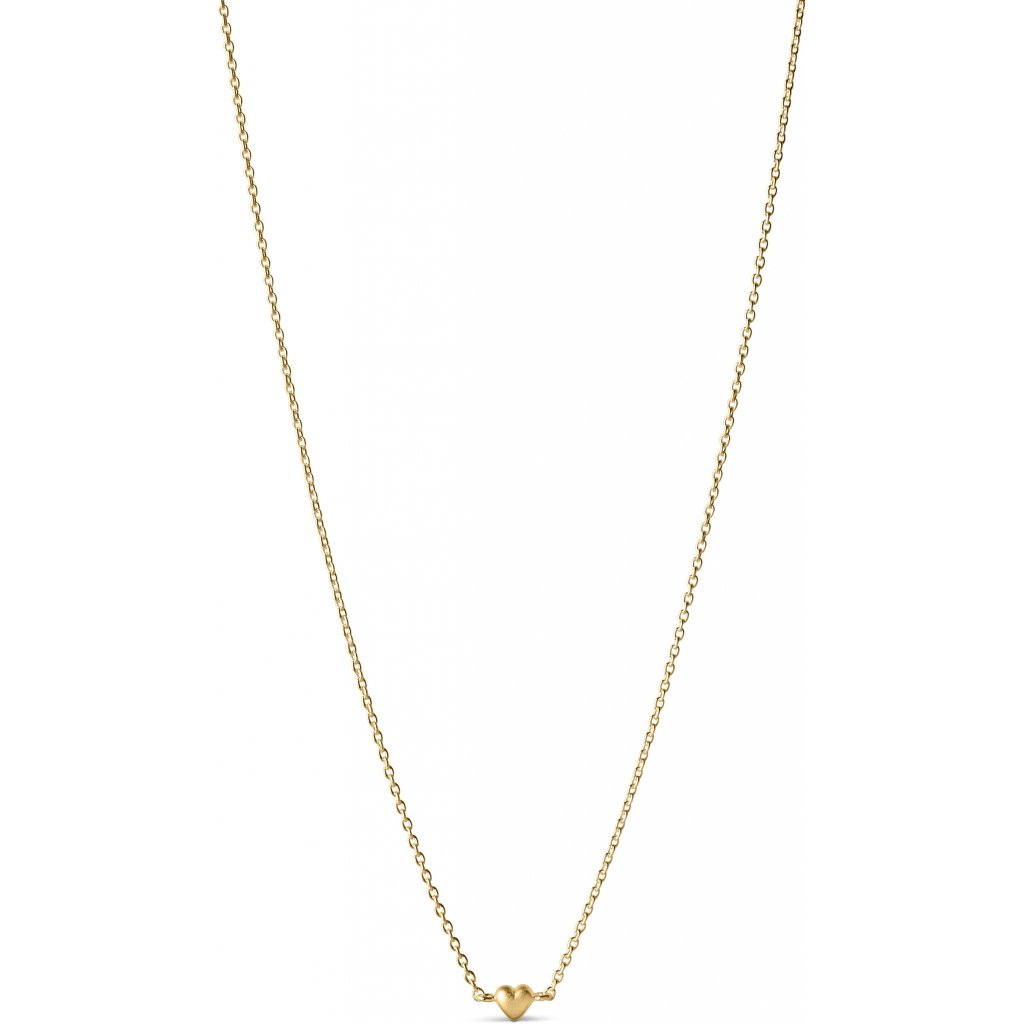 "18K Gold Plated Silver Necklace ""Little Love"""