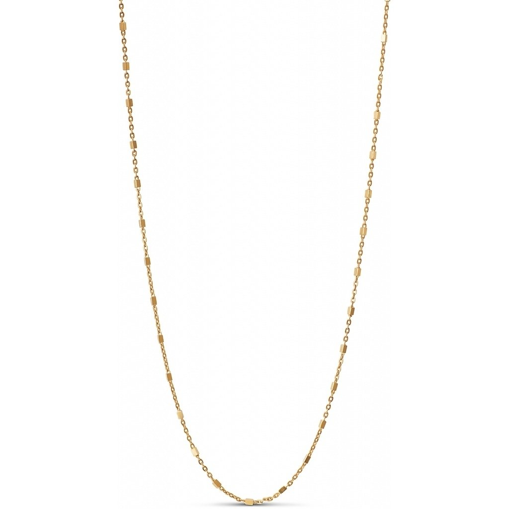 "18k Gold-plated Silver Necklace ""Elva"""