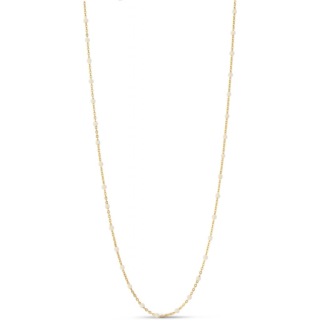 "18K Gold Plated Necklace ""Daisy"""