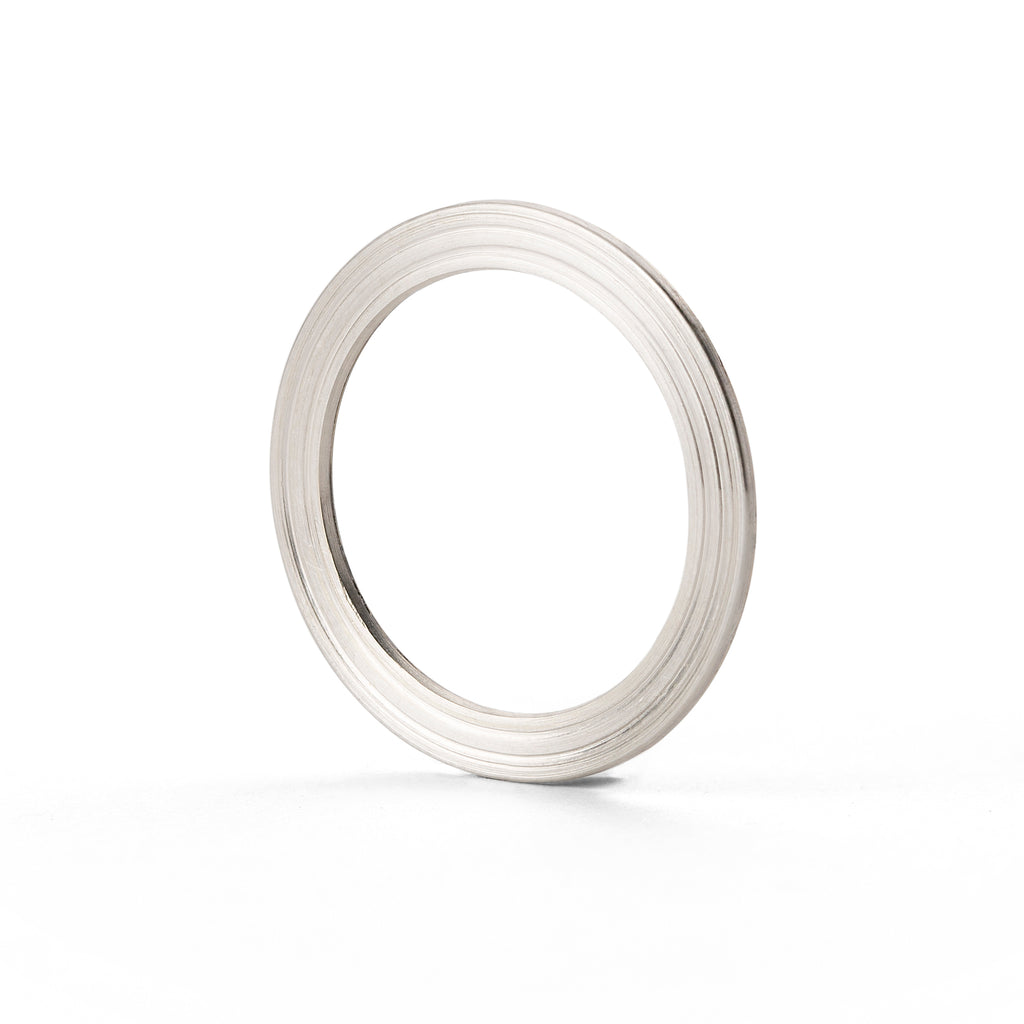 Silver and Gold ORBIT Ring