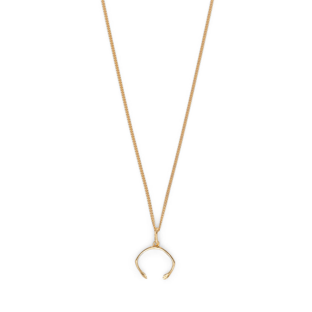 White Nights Gold Plated Necklace