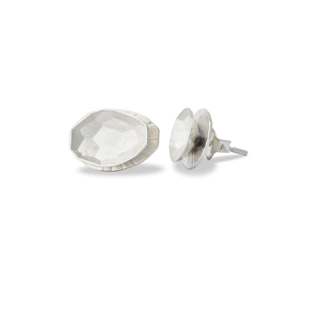 "Earrings - Silver Stud Earrings ""Shape"""