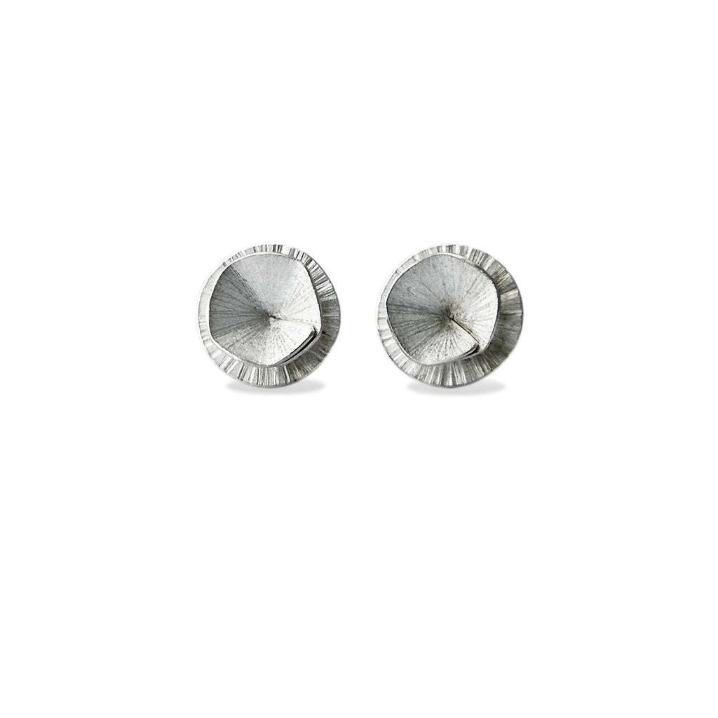 "Earrings - Silver Studs ""Shape 1"""
