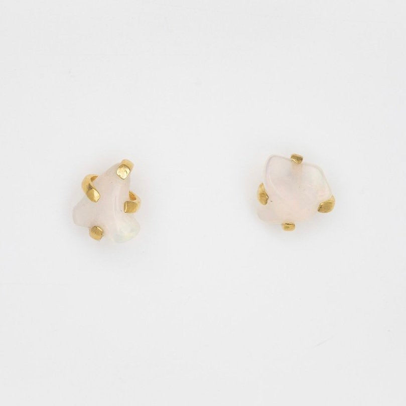 Forest of Lanterns Studs with Rough Opal