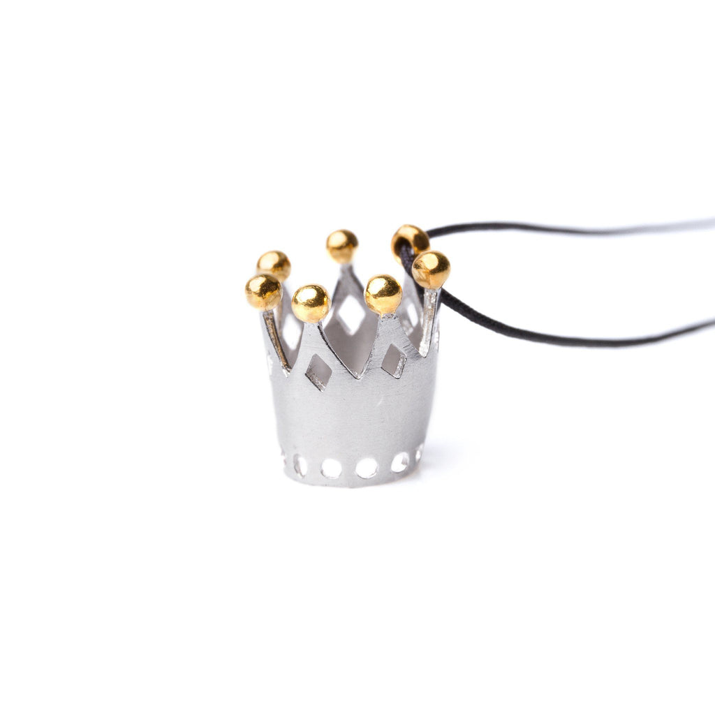 "Necklaces & Pendants - Silver Pendant ""Amazing Crown"""