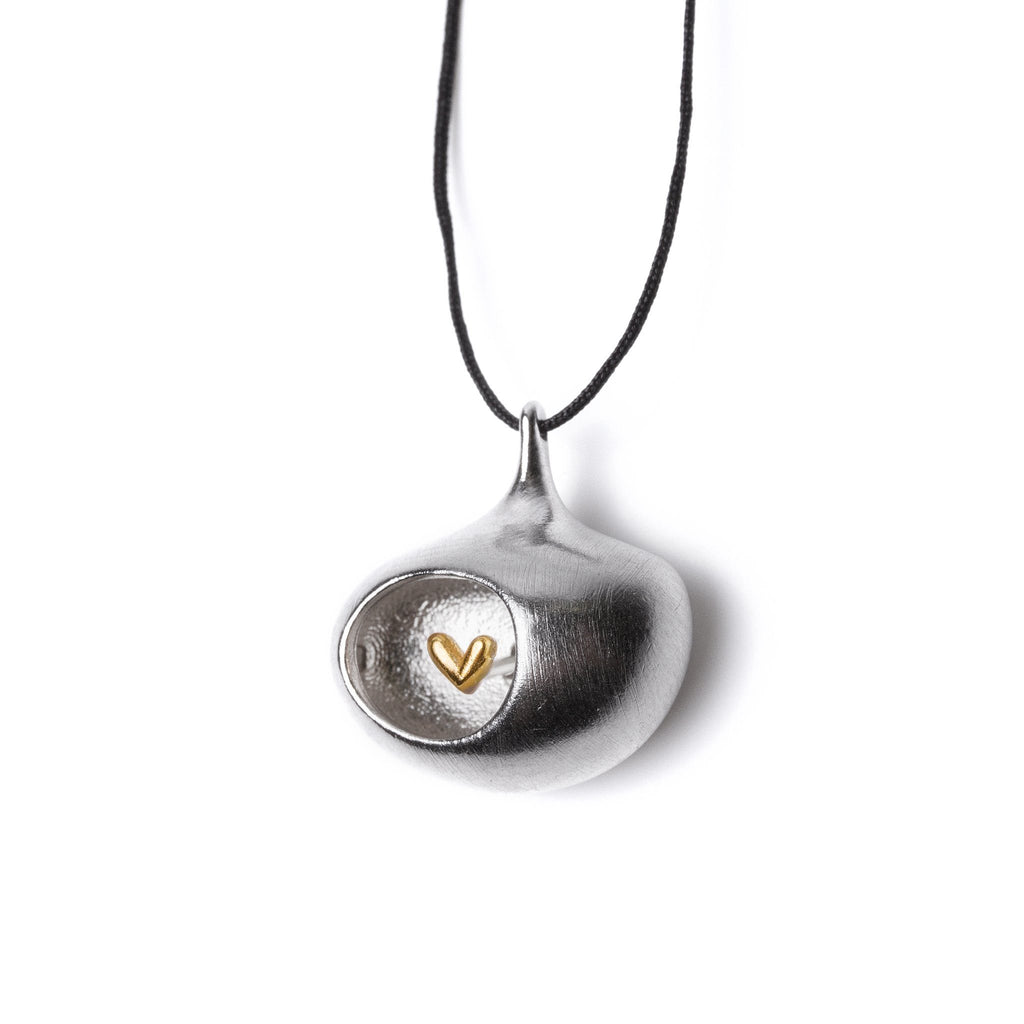 "Necklaces & Pendants - Silver Pendant ""One Heart"""