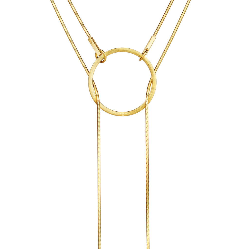 Necklaces & Pendants - STREAK Gold Silver Necklace