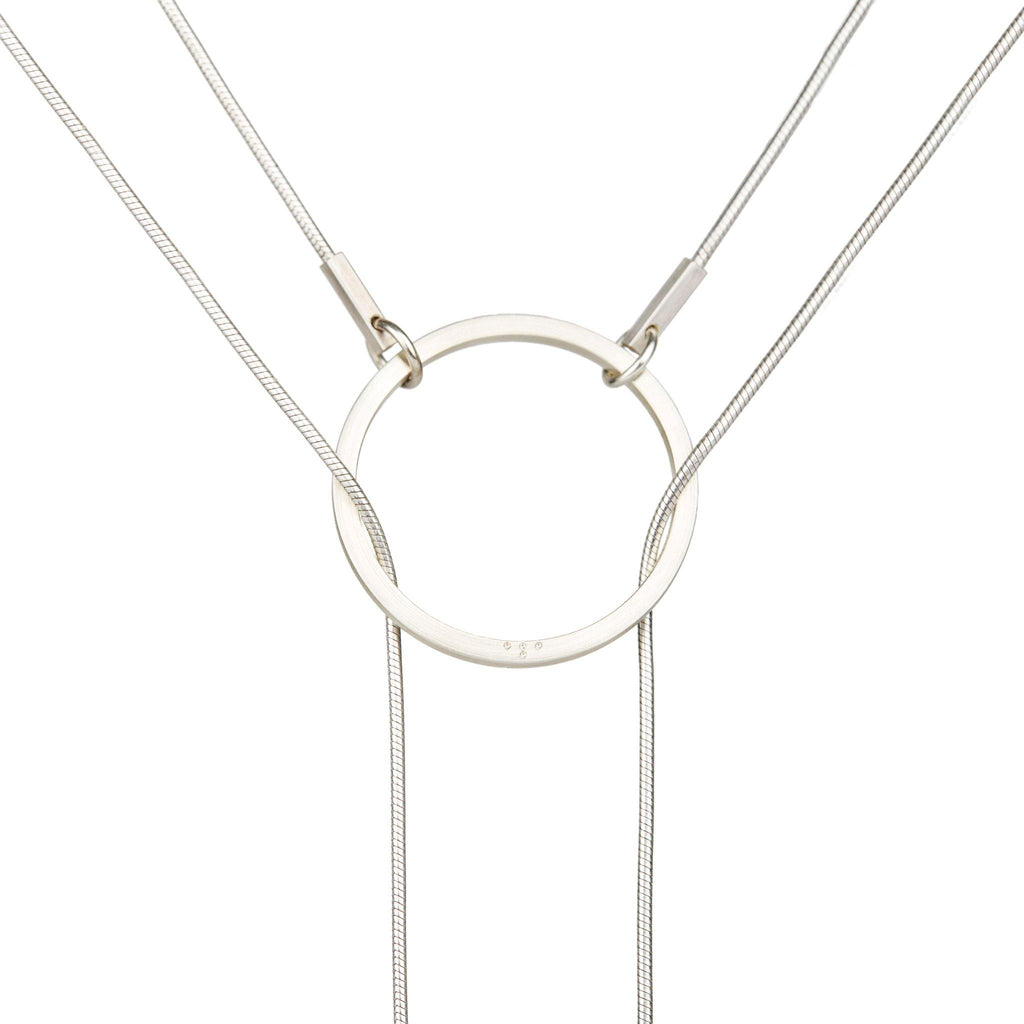 Necklaces & Pendants - STREAK Silver Necklace