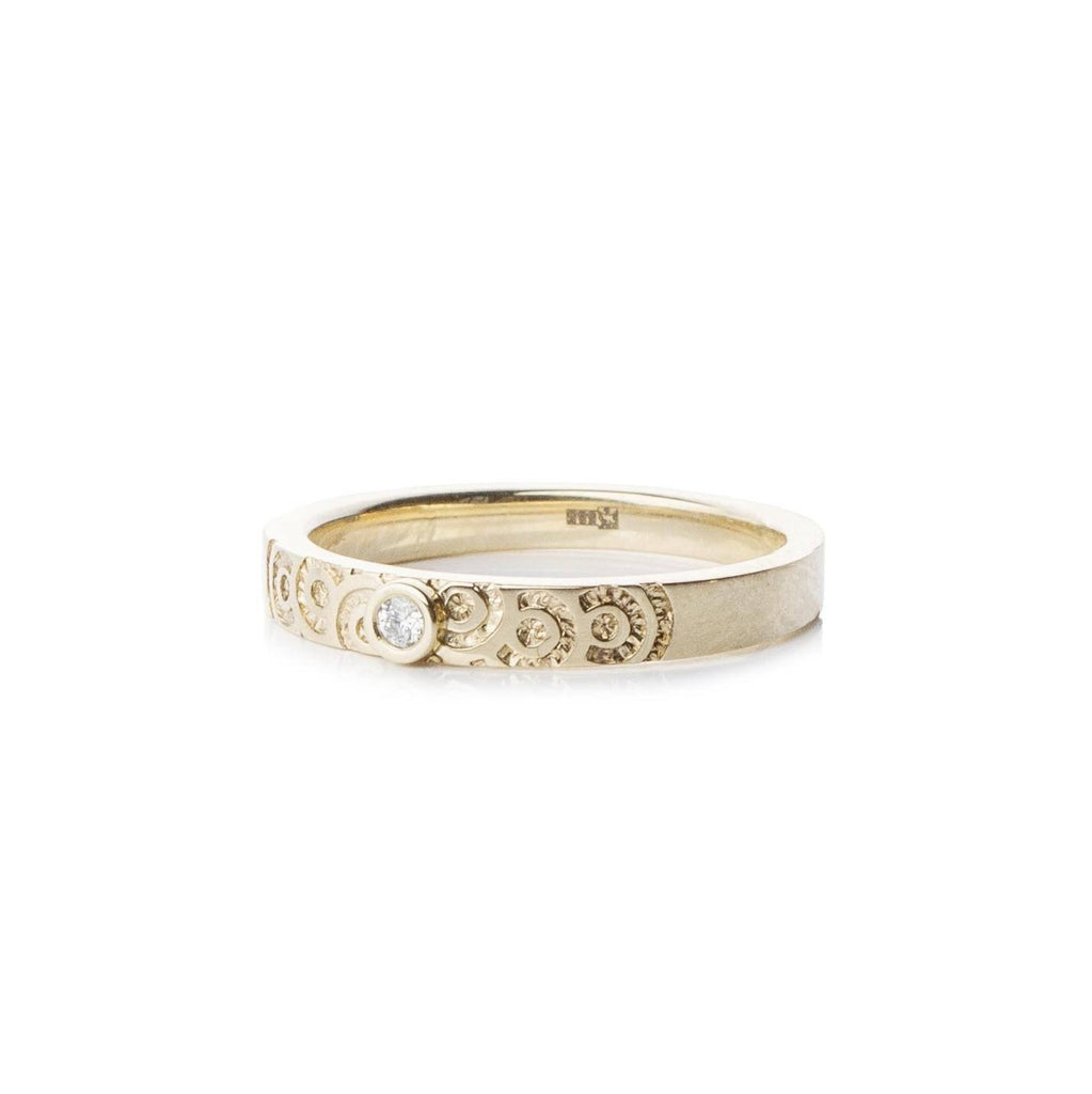 Rings - Gold Diamond Ring