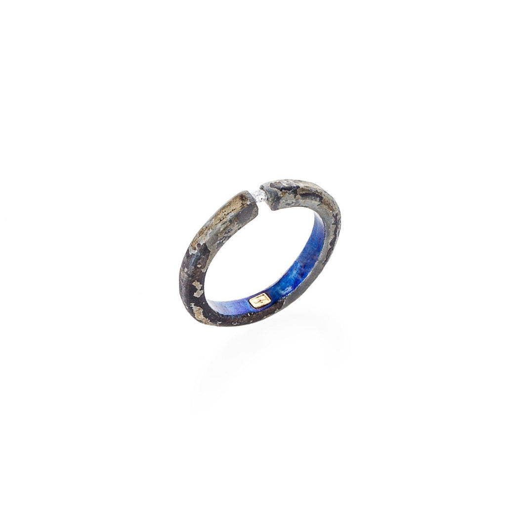 Rings - Titanium Diamond Ring