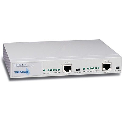 TE100-S22, 2-port 10/100Mbps N-way autosenzing switchinig hub - EC, d.o.o.