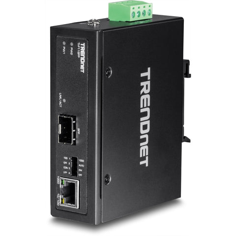 Trendnet TI-F11SFP Hardened Industrial 100/1000  Base-T to SFP Media Converter - EC, d.o.o.