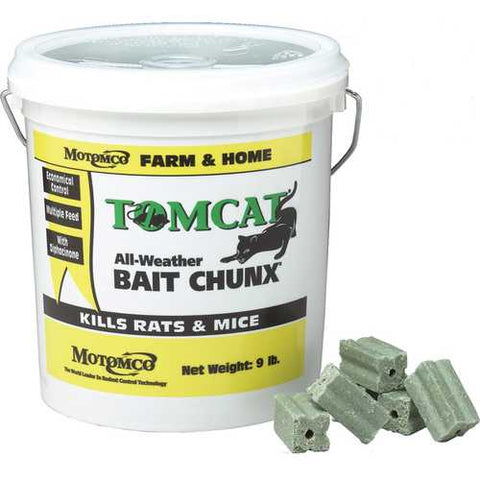 Tomcat All Weather Bait Chunx Rat And Mouse Killer