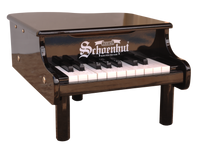 Schoenhut Mini Grand Piano 18-Key Black