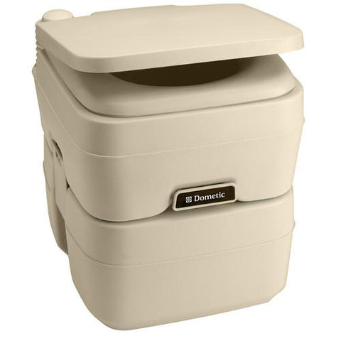 Dometic - 965 MSD Portable Toilet 50 Gallon Parchment