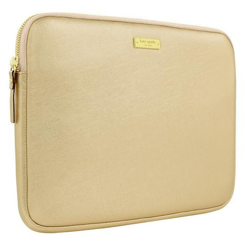 Kate Spade Saffiano Sleeve for Surface Pro 3/4 (Metallic Gold)