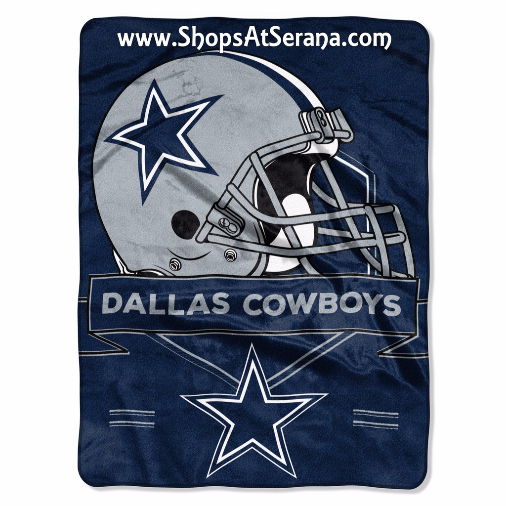 $31.00 -  Dallas Cowboys Blanket 60x80 Raschel Prestige Design (plus S & H Total  $42.00)