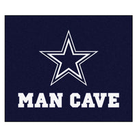 Dallas Cowboys Man Cave Tailgater Rug 5x6