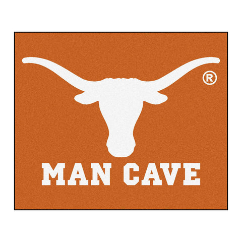 University of Texas Man Cave Tailgater Rug 5x6