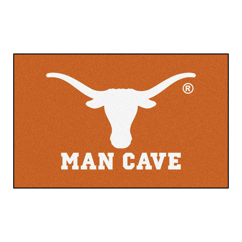 University of Texas Man Cave UltiMat Rug 5x8