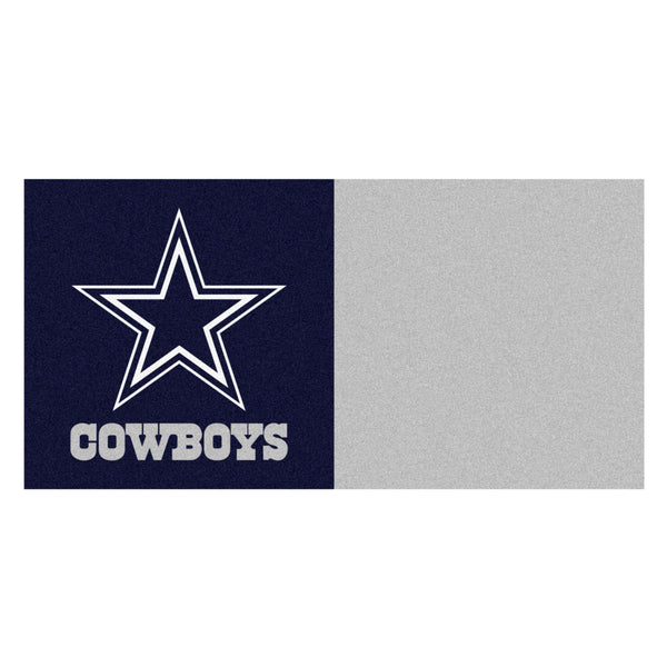 Dallas Cowboys Carpet Tiles 18x18 tiles
