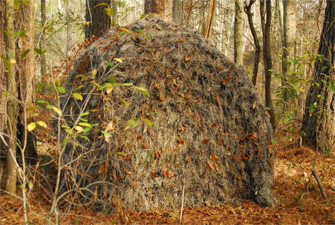 Ghillie Ground Blind Cover - Leafy Green