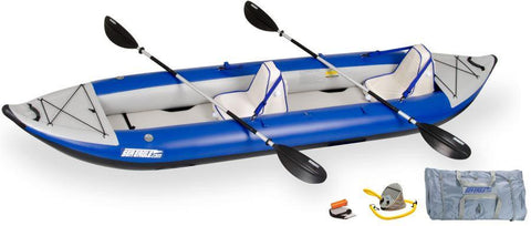 Sea Eagle 420X 14ft Inflatable Kayak Incl Seats Paddles and Pump