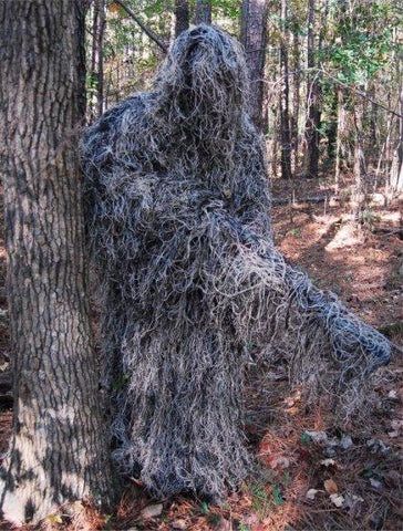 Ghillie Paintball Ultra Light Synthetic Poncho Mossy Oak