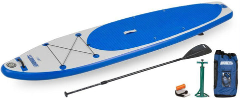 Sea Eagle SUP Inflatable Paddle Board LongBoard 11ft Start Up Package