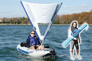 Sea Eagle QuikSail- Universal Kayak Sail
