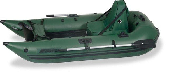 Sea Eagle 285 Deluxe Green Inflatable 9ft Pontoon Boat