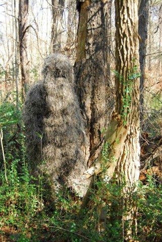 Bulls-Eye 4pc Mossy Ghillie Suit - ML