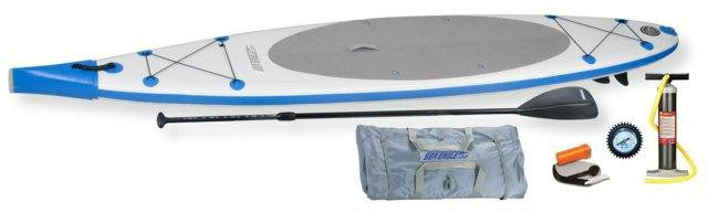 Sea Eagle NeedleNose SUP Inflatable Paddle Board LongBoard 12ft Start Up Package