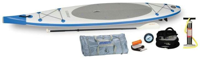 Sea Eagle NeedleNose SUP Inflatable Paddle Board LongBoard 12ft Electric Pump Pkg